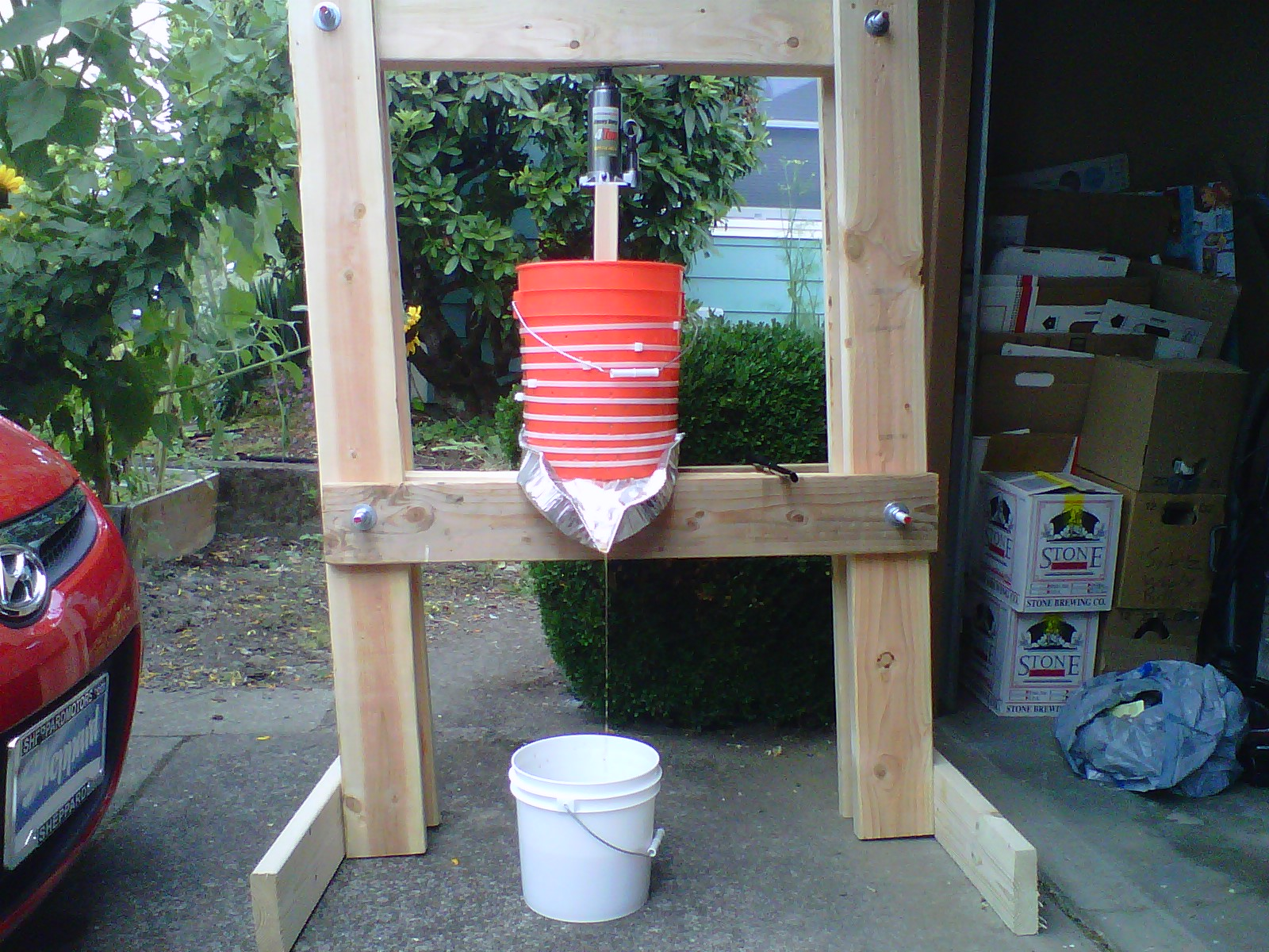 Build An Apple Cider Press Basket For Under 20 The