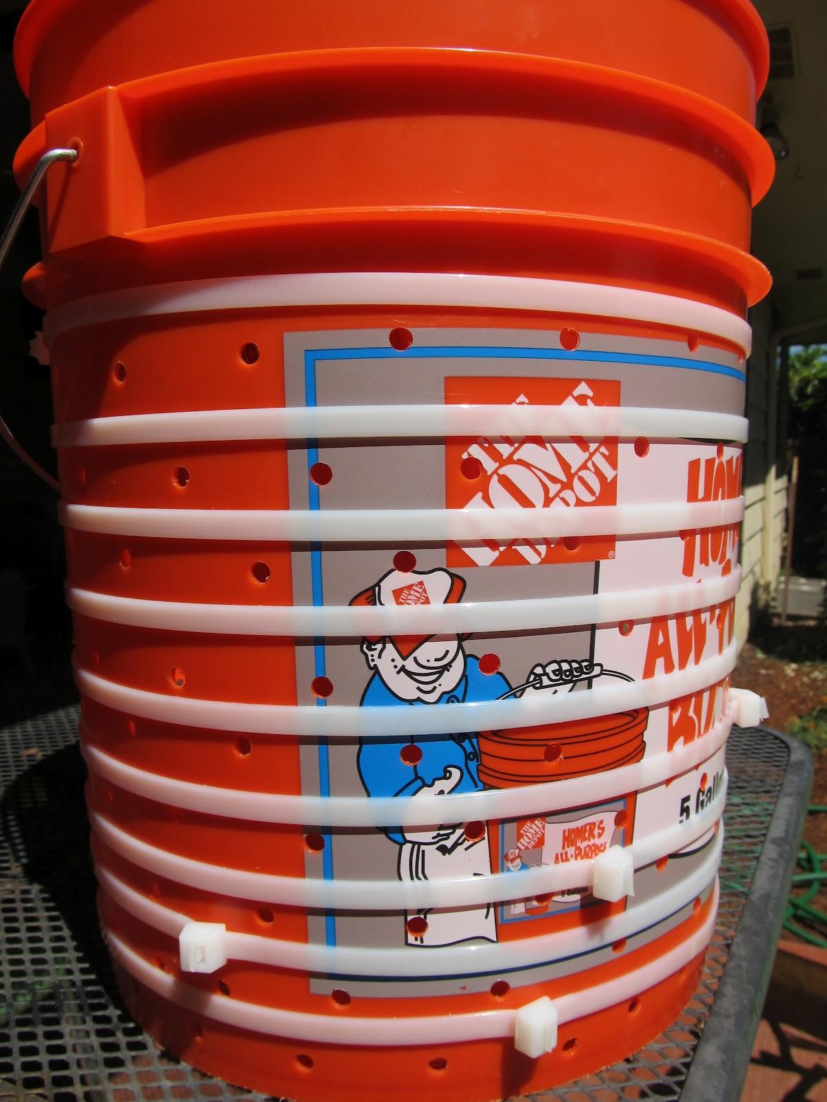 diy apple cider press basket made from home depot bucket